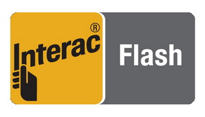 We Accept Interac Flash